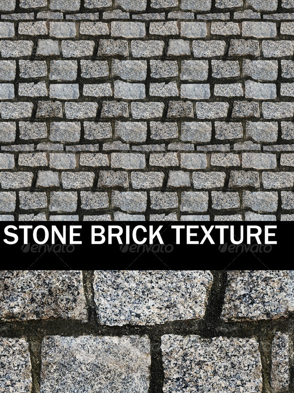 Stone Brick High Resolution Texture  - 3DOcean Item for Sale
