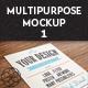 5 Multipurpose Closeup Mock Up Pack 01 - GraphicRiver Item for Sale