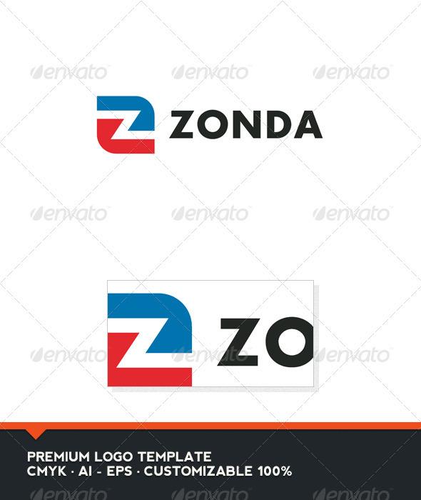Zonda Logo Template - Letters Logo Templates