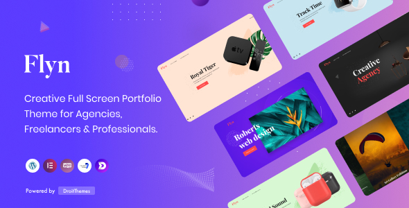 Flyn - Creative Portfolio WordPress Theme