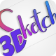 3D Sketch logo reveal - VideoHive Item for Sale