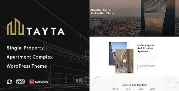 Tayta - Single Property & Apartment Complex Theme