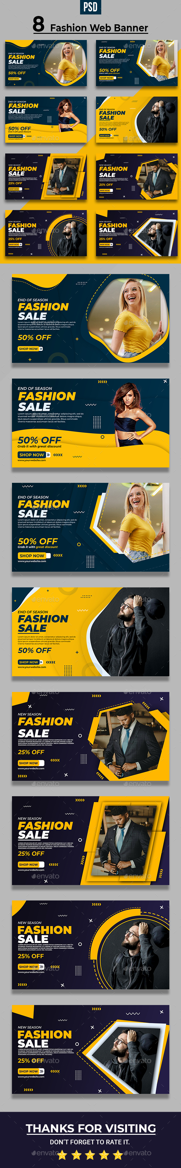 Fashion Web Banner Template