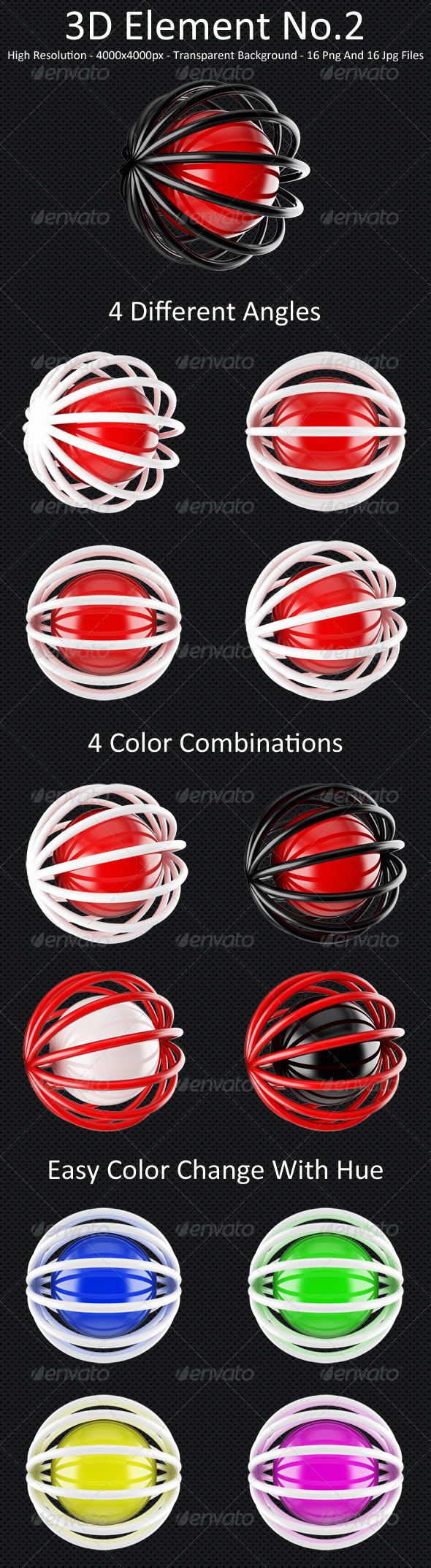 3D Element No.2 - 3D Backgrounds
