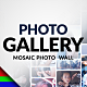 Mosaic Photo Gallery | Logo Reveal - VideoHive Item for Sale