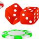 Playing chips. - GraphicRiver Item for Sale