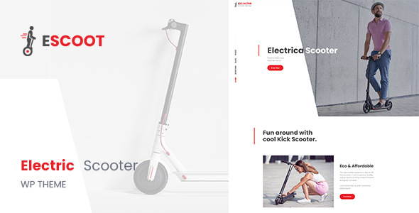 EScoot - Single Product eCommerce Theme