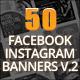 50 Facebook Instagram Banners #2