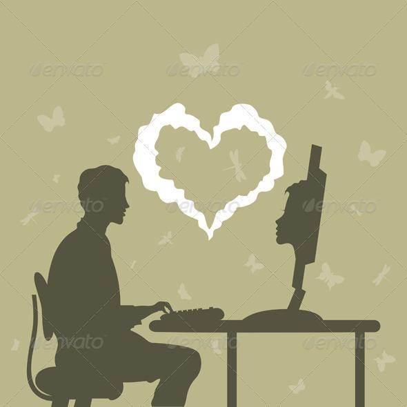 Acquaintance Internet - People Characters