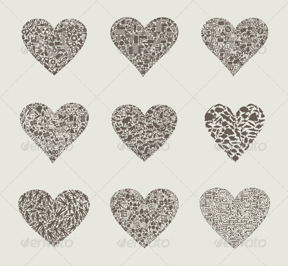 Heart design an element - Valentines Seasons/Holidays