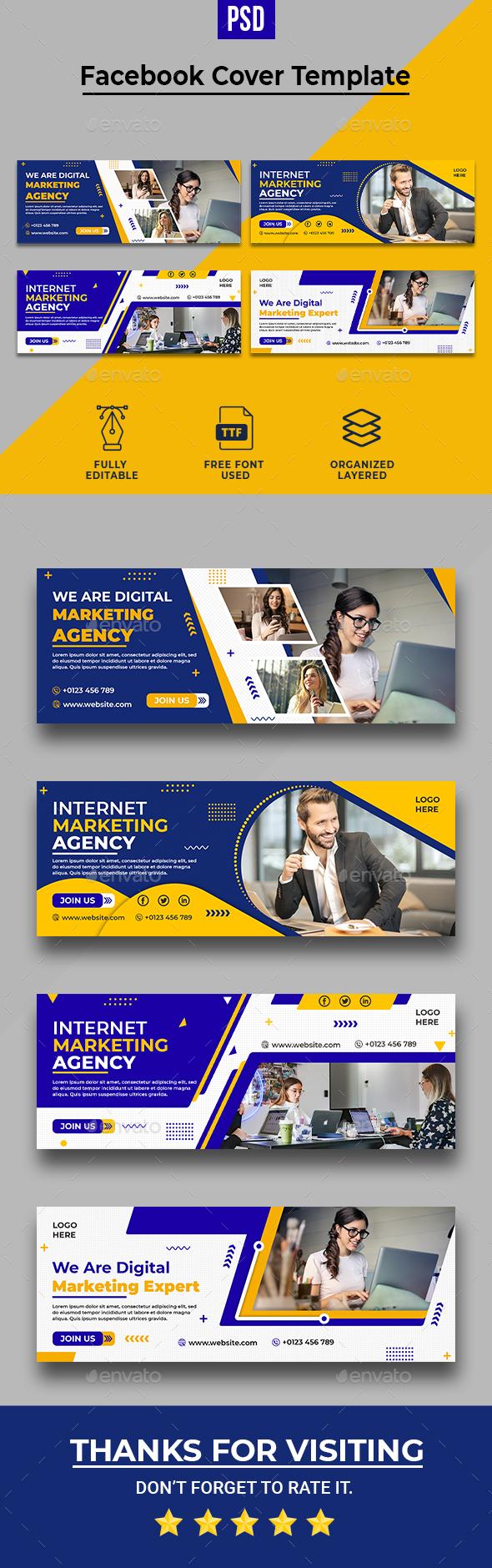 Digital Marketing Facebook Timeline Cover