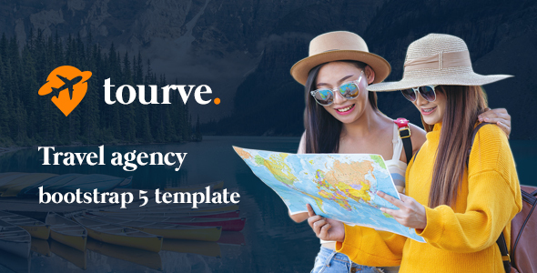 Tourve – Travel Agency Bootstrap 5 Template