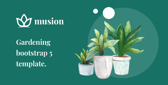 Musion – Gardening and Landscaping HTML Template