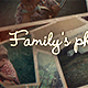 Family's Photo Book - VideoHive Item for Sale
