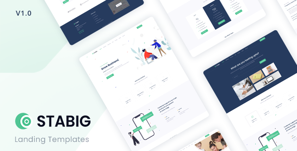 Stabig - Bootstrap 5 Creative Landing Page Template