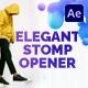 Elegant Stomp Opener - VideoHive Item for Sale