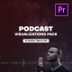 Podcast Audio Visualization Pack for Premiere Pro - VideoHive Item for Sale