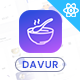 Davur | Restaurant Food React Admin Dashboard Template
