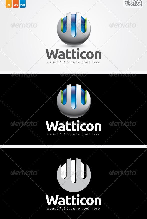 Watticon - Letters Logo Templates