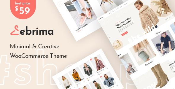 Ebrima - Minimal & Creative WooCommerce WP Theme