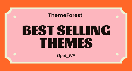 Top Selling WordPress Themes