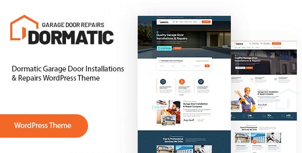 Special Dormatic – Garage Door Repair WordPress Theme