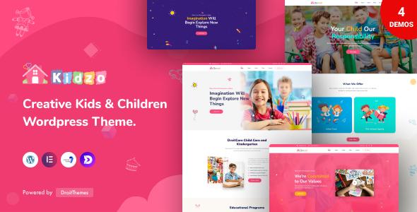 Kidzo - Kids & Children WordPress theme