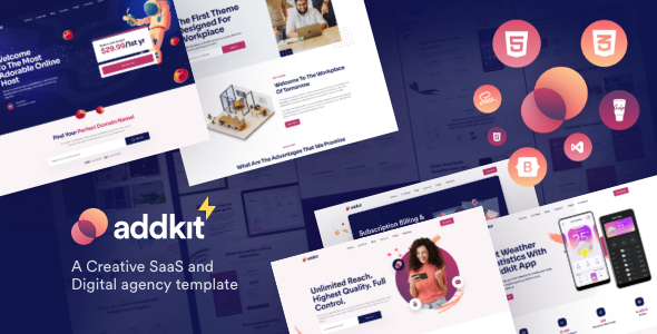 Addkit – Multipurpose Template