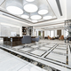 3d rendering luxury business meeting and working room in executive office - PhotoDune Item for Sale