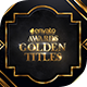 Awards Golden Titles - VideoHive Item for Sale