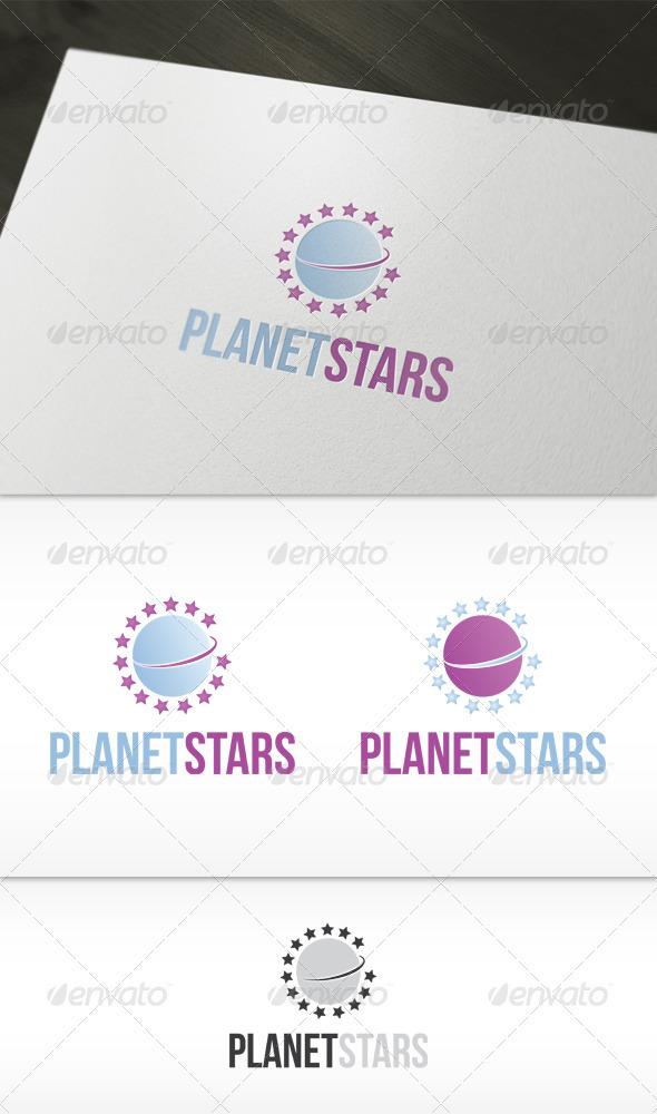 Planet Stars Logo - Symbols Logo Templates