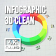 Infographics 3D Clean - VideoHive Item for Sale