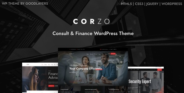 Download Corzo – Consulting & Finance Free Nulled