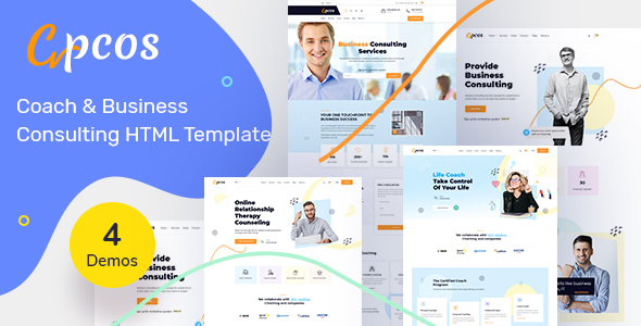 Cpcos - Coach & Business HTML Template