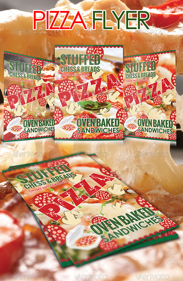 pizza flyer template restaurant flyers