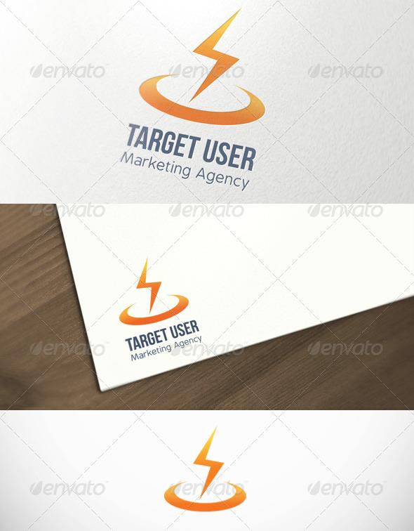 Target User Marketing Agency Logo Template - Symbols Logo Templates