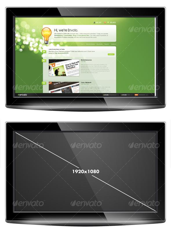 HD LCD Display - TV Displays