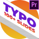 Typography   MOGRTs - VideoHive Item for Sale