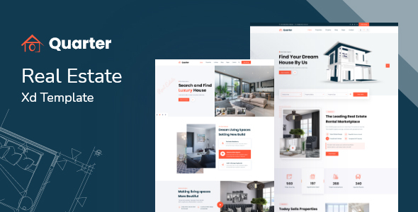 Quarter - Real Estate XD Template