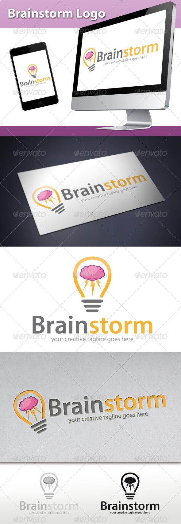 Brainstorm Logo - Symbols Logo Templates