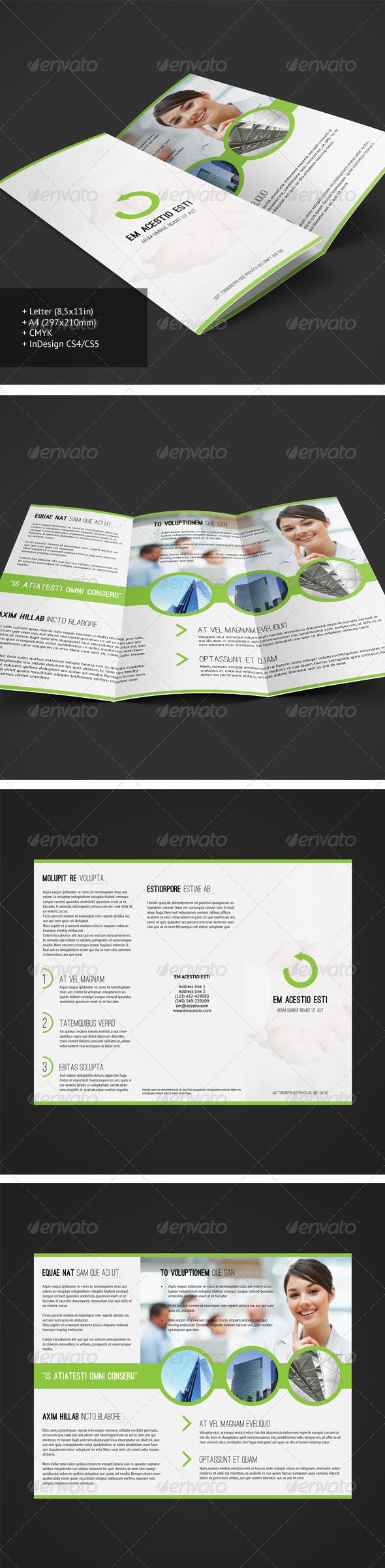 Tri-fold Brochure 8 - Corporate Brochures