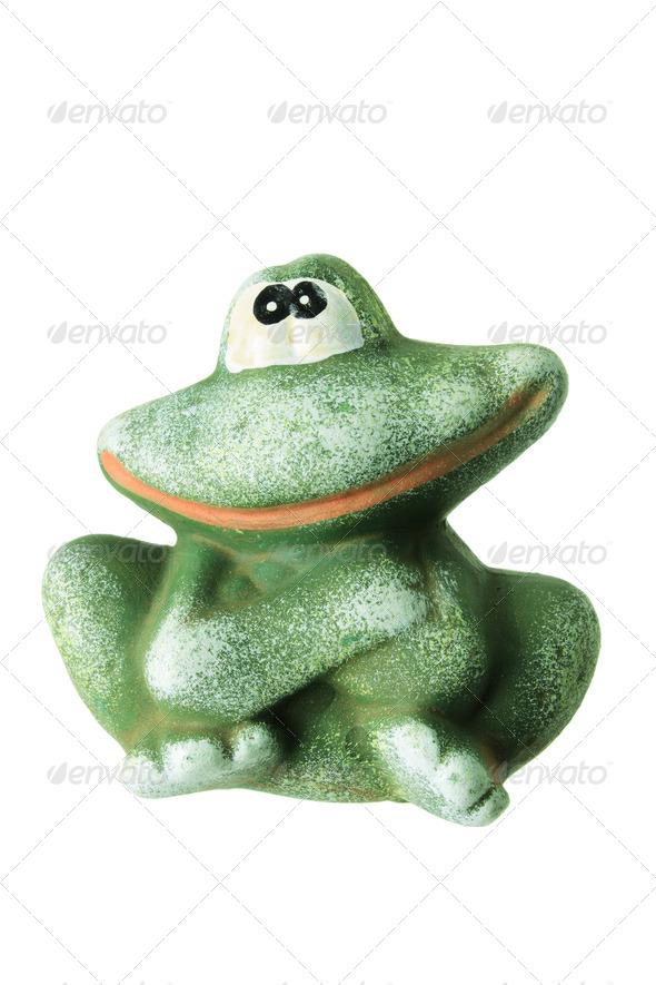 Frog Figurine - Stock Photo - Images