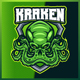 Kraken Octopus - Mascot & Esport Logo