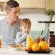Family having breakfast at home - PhotoDune Item for Sale