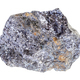 rough Galena with Chalcopyrite rock isolated - PhotoDune Item for Sale