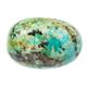 rolled Turquoise gemstone isolated on white - PhotoDune Item for Sale