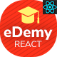 eDemy - React Next Education & LMS Template