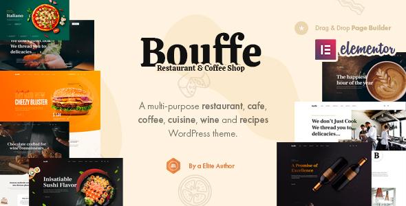 Bouffe - Restaurant & Cafe Theme