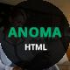 Anoma - Creative Portfolio Html Template