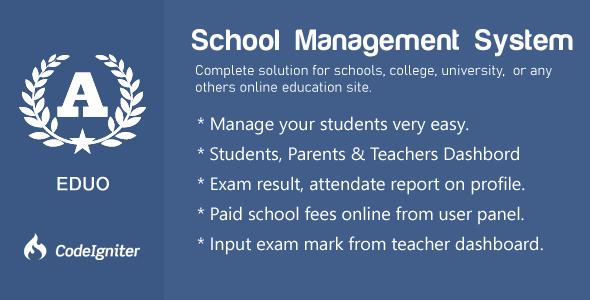 Eduo - School Management System